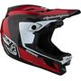 Troy Lee Designs D4 Carbon Helm rot/schwarz