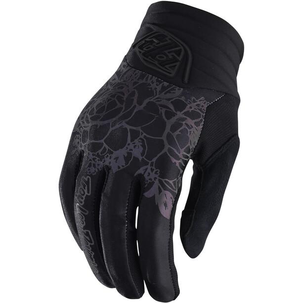 Troy Lee Designs Luxe Handschuhe Damen schwarz