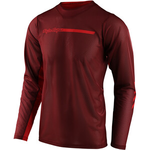 Troy Lee Designs Skyline Air LS-trøye rød/Brun rød/Brun