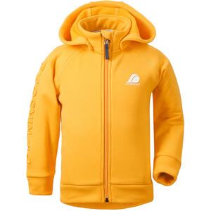 DIDRIKSONS Corin 3 Jacket Kids, jaune jaune