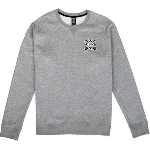 Race Face Crest Rundhals Sweater Herren grau grau