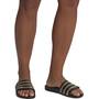 adidas Adilette Aqua Claquettes Homme, core black/gold metalic/core black
