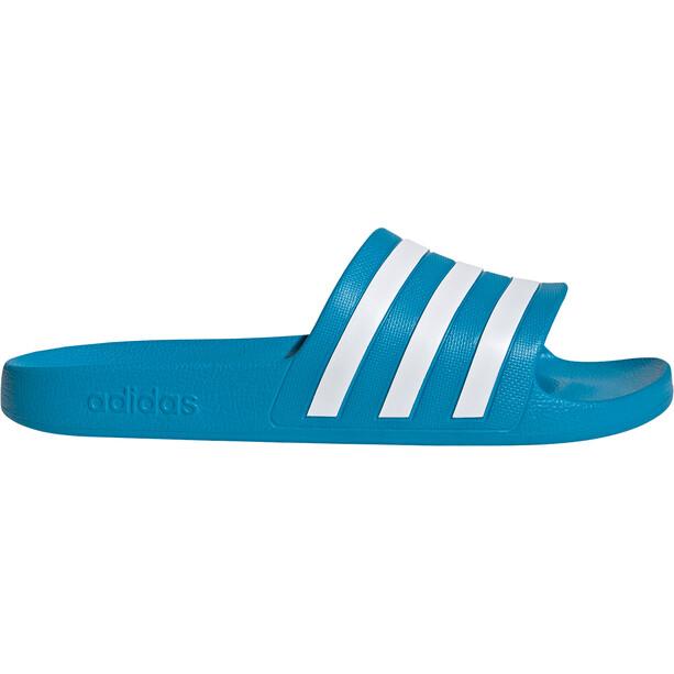 adidas Adilette Aqua Slipper Herren solar blue/footwear white/solar blue