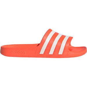 adidas Adilette Aqua Slipper Damen rot/weiß rot/weiß