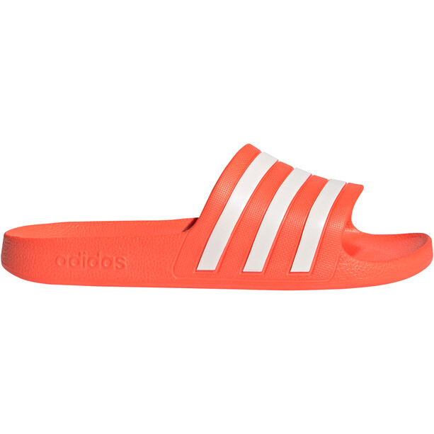 adidas Adilette Aqua Slipper Damen rot/weiß
