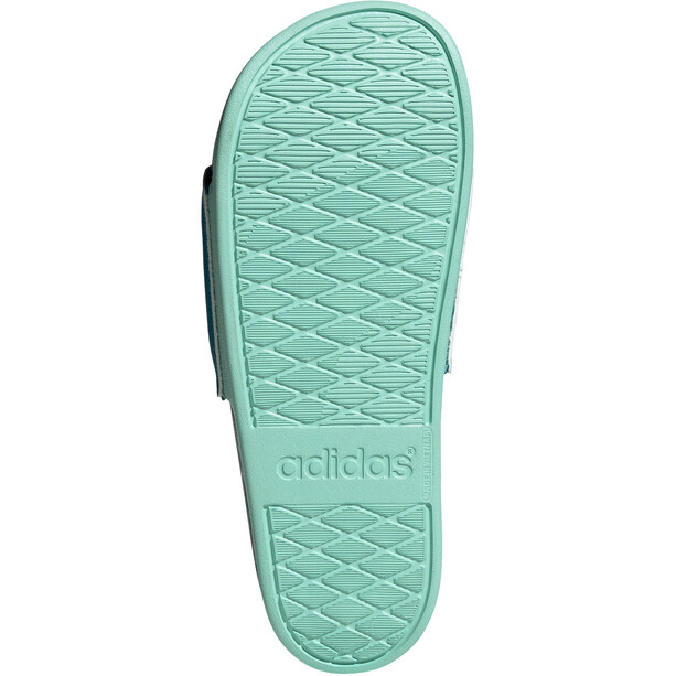adidas Adilette Comfort Slipper Damen active teal/clear mint/wild teal