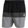 adidas Block CLX Short Length Shorts Herren schwarz/grau