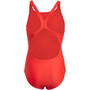 adidas Fit 3S Swimsuit Girls, vivid red/white