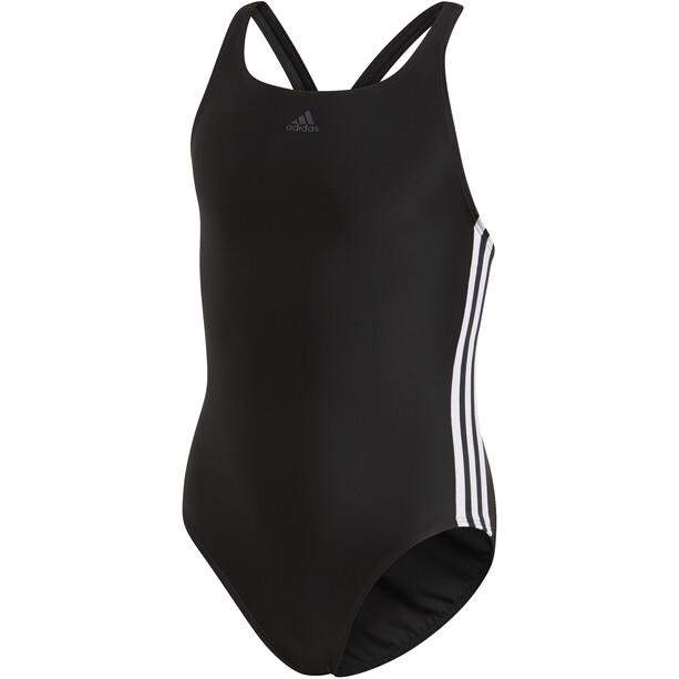 adidas Fit 3S Badeanzug Kinder schwarz