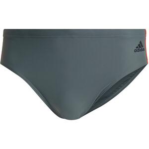 adidas Fit 3S Boxer de bain Homme, bleu bleu