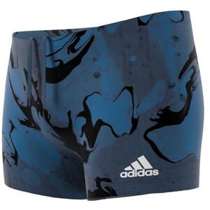 adidas Fit Wave Beat Boxer-Badehose Herren blau blau