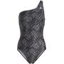 adidas SH3.RO Festivibes Swimsuit Women, black/grey three