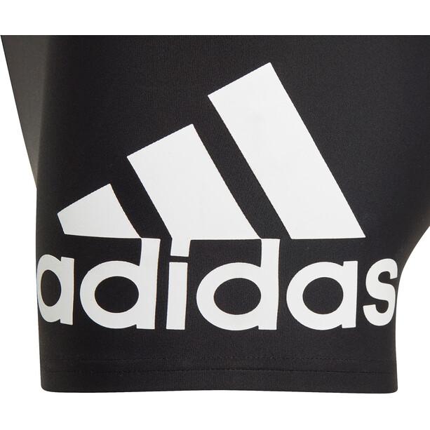 adidas YB Bos Badehose Kinder schwarz/weiß