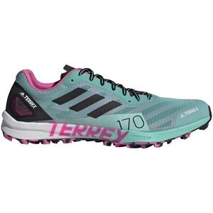 adidas TERREX Speed Pro Running Shoes Women turkos/flerfärgad turkos/flerfärgad