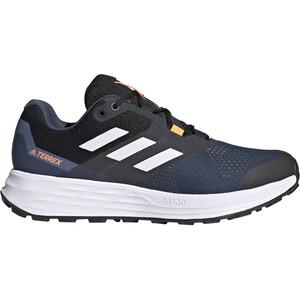 adidas TERREX Two Flow Running Shoes Men blå/vit blå/vit