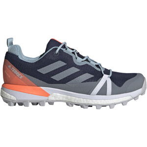 adidas TERREX Skychaser LT GTX Trail Running Shoes Women tech indigo/grey three/signal coral tech indigo/grey three/signal coral