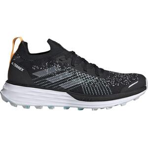 adidas TERREX Two Parley Running Shoes Women, noir/gris noir/gris