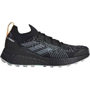 adidas TERREX Two Ultra Parley Low Trail Running Shoes Women, musta/harmaa musta/harmaa
