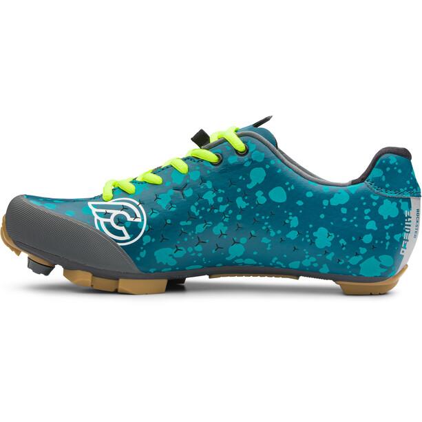 Northwave Rockster Zydeco Shoes Men, bleu/turquoise