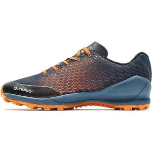 Icebug Zeal5 RB9X Running Shoes Men, gris/naranja gris/naranja