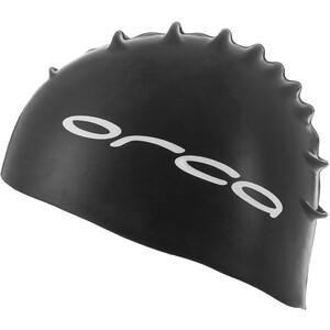 ORCA Silicone Swimcap svart svart