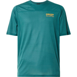 Oakley Cascade Trail Kurzarm Tee Herren petrol petrol