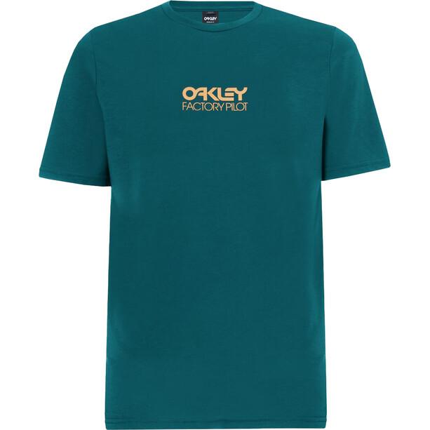Oakley Everyday Factory Pilot Kurzarm Tee Herren bayberry