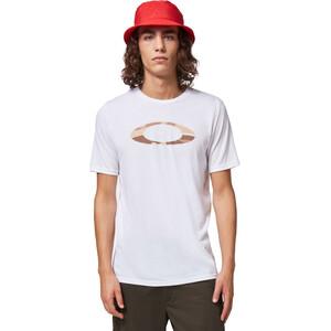 Oakley O-Bold Ellipse T-Shirt Homme, blanc blanc