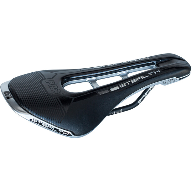 PRO Stealth LTD Saddle, noir/argent