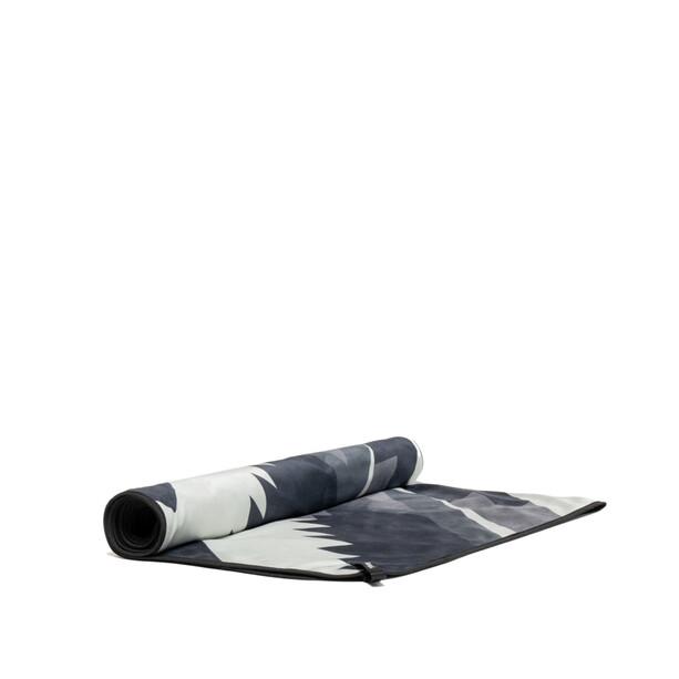 Rumpl Shammy Handtuch schwarz/weiß