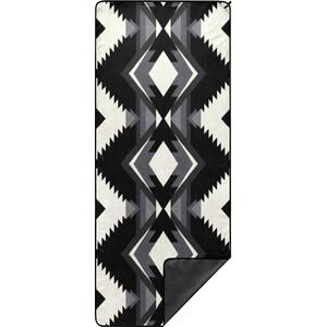 Rumpl Shammy Towel svart/vit svart/vit