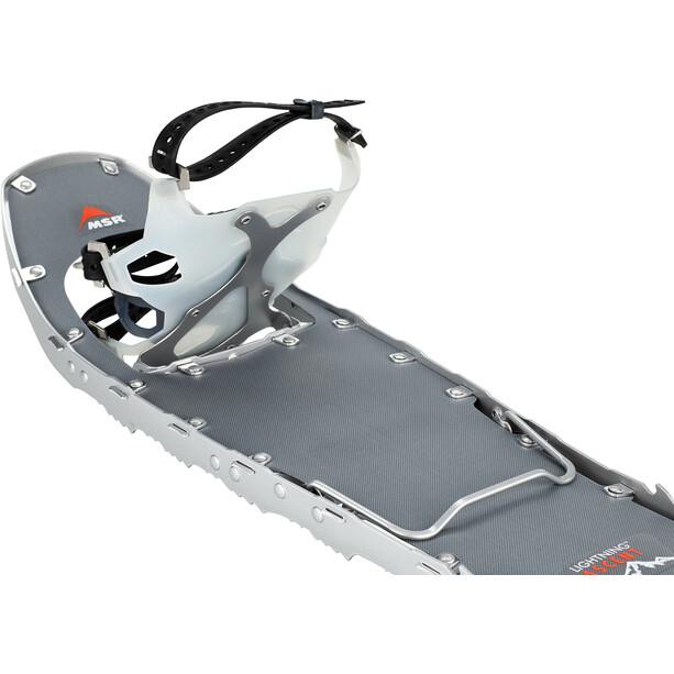 MSR Lightning M25 2020 Ascent Snow Shoes Men, silver