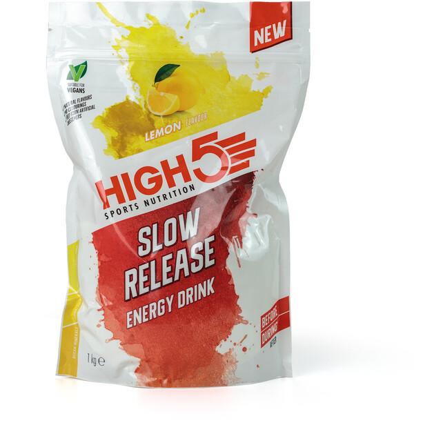 High5 Slow Release Energidrikspose 1000 g, Lemon