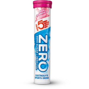 High5 Zero Electrolyte Sports Drink Tabs 20 Pieces, Pink Grapefruit