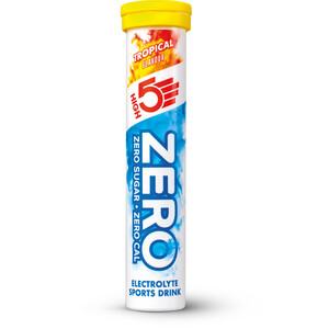High5 Zero Electrolyte Sports Drink Tabs 20 Pieces, Tropical