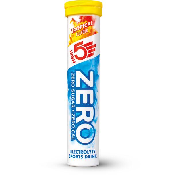 High5 Zero Elektrolyt Sportsdrink Tabs 20 stykker, Tropical