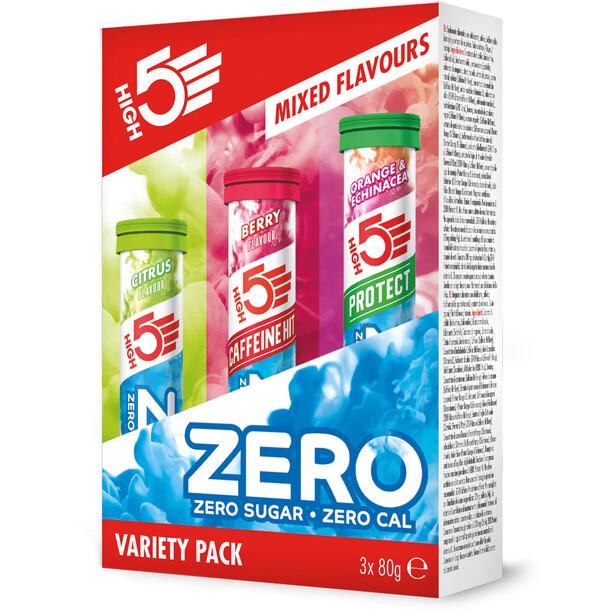 High5 Zero Variety Pack 3 x 80 g, Mixed