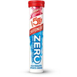 High5 Zero Caffeine Hit Electrolyte Sports Drink Tabs 20 Pieces, Berry