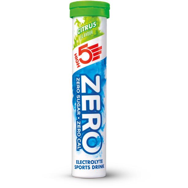 High5 Zero Elektrolyt Sportsdrink Tabs 20 stykker, Citrus