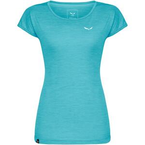 SALEWA Puez Melange Dry Kurzarm T-Shirt Damen blau blau