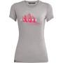 SALEWA Lines Graphic Dry T-Shirt Damen grau