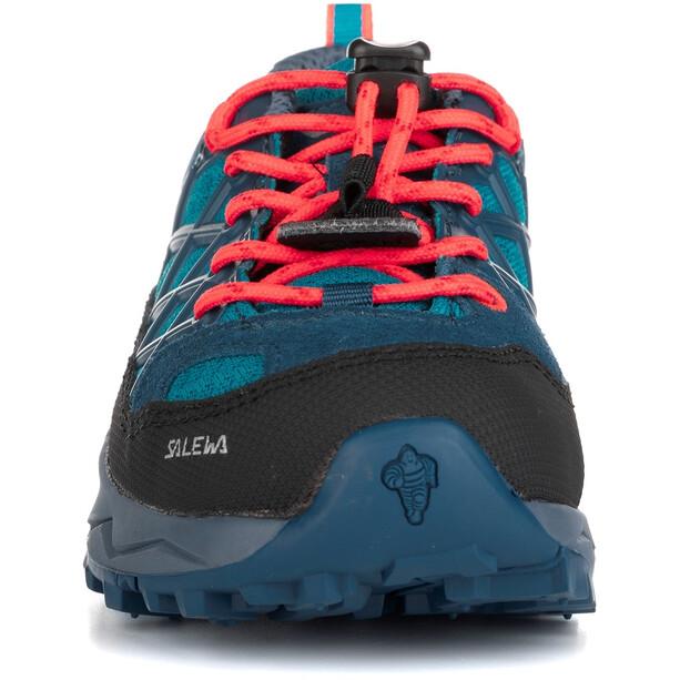 SALEWA MTN Trainer WP Schuhe Kinder blau/schwarz