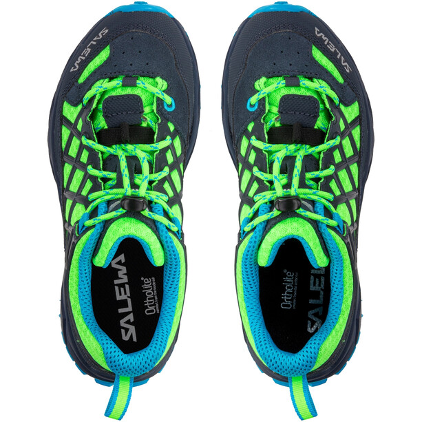SALEWA Wildfire Schuhe Kinder blau/grün