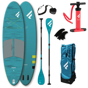 """Fanatic Fly Air Pocket/C35 SUP Package 10'4"""" Inflatable SUP with Paddle and Pump"""