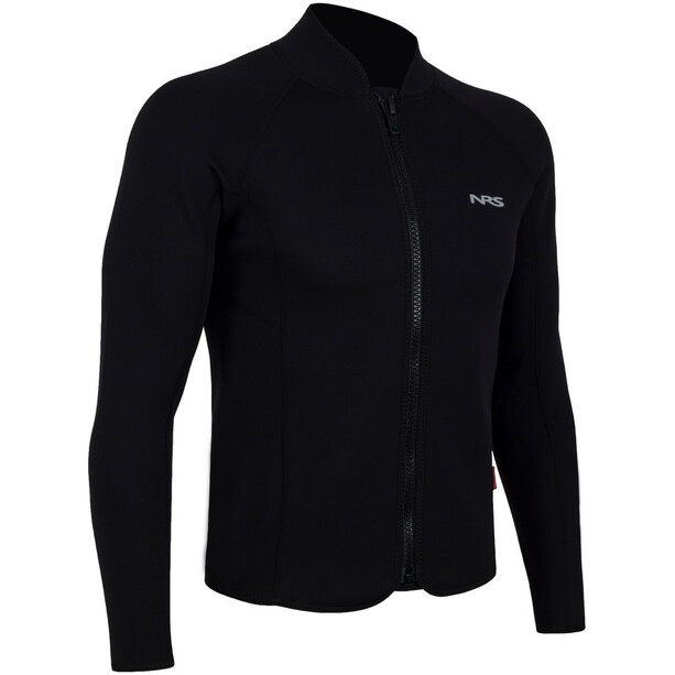 NRS Bill´s Wetsuit Jacket Men, black