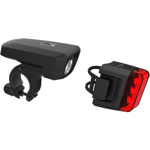 Cube Pro 25 Beleuchtungsset black/black
