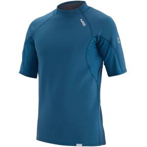 NRS HydroSkin 0.5 Kurzarm Shirt Herren blau blau