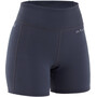 NRS HydroSkin 0.5 Shorts Women, harmaa