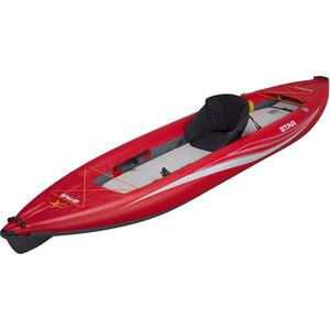 """NRS Paragon XL Aufblasbares Kayak 13'6"""" rot rot"""