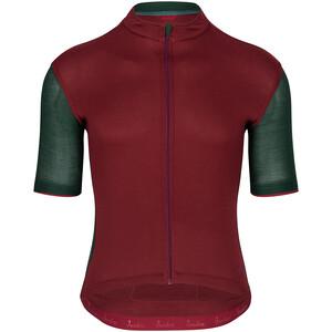 Isadore Signature Cycling 2.0 Jersey Shortsleeve Men, punainen/vihreä punainen/vihreä